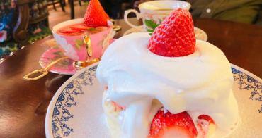【首爾必吃】隱藏在益善洞韓屋村裡的復古華麗的咖啡店동백양과점,販賣著讓韓妞為之瘋狂的🍓草莓舒芙蕾