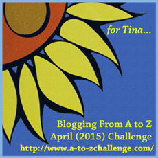 A to Z Blog Challenge – Theme Revealed