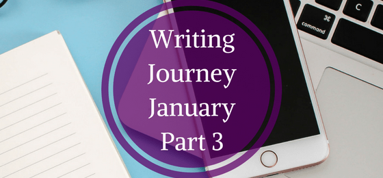The Writing Journey – January Part 3 – The Read Through