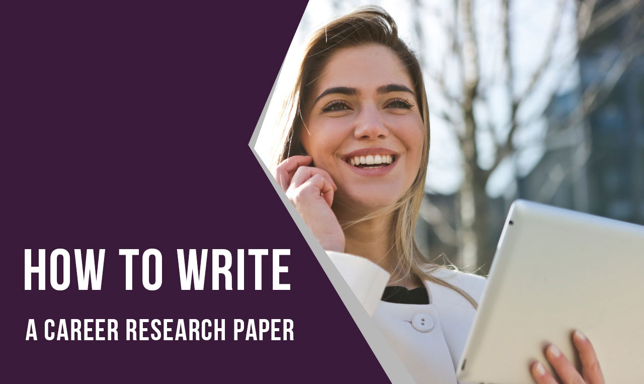 How to write career research paper