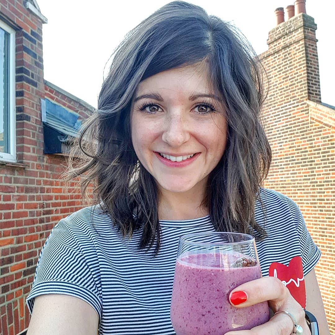 Blackberry & Banana smoothie recipe with a twist