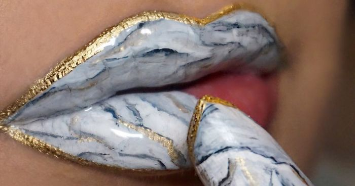marble lips makeup art fb  700 png - Marble Lips?