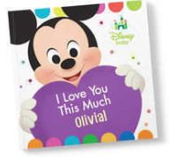 disney personalized book
