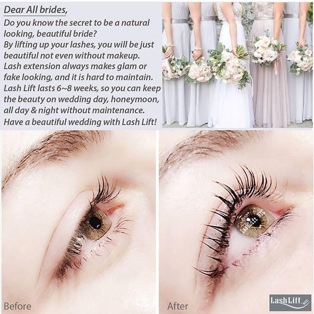 9176b606719 Lash Lift makes you be more beautiful bride! - Lash Lift NYC