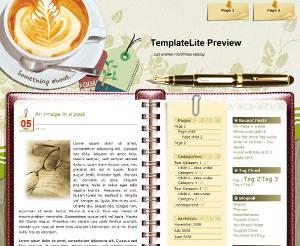 Capture d'écran d'un thème parmi des milliers
