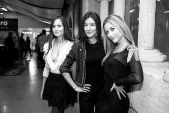 Mónica Flaquer (@lovingmysteps), Natalia Aestene (@onibizaclouds) y Anita Moreno (@dress_to_impress_ibiza)