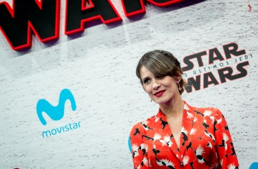 MADRID, SPAIN - DECEMBER 12: Elena Ballesteros during 'Star Wars: Los Ultimos Jedi' Madrid Premiere on December 12, 2017 in Madrid, Spain. (Photo by Samuel de Roman/Getty Images For Disney)