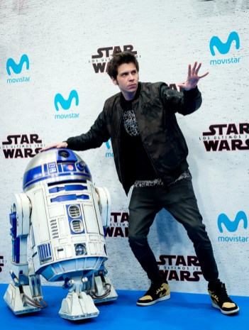 MADRID, SPAIN - DECEMBER 12: Rubius during 'Star Wars: Los Ultimos Jedi' Madrid Premiere on December 12, 2017 in Madrid, Spain. (Photo by Samuel de Roman/Getty Images For Disney)