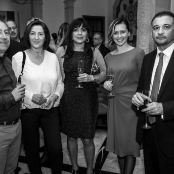 Jesús Portilla, Conchita Rodriguez, Margarita Garay, Maugo y JuanManuel Sogorb © La Siesta Press