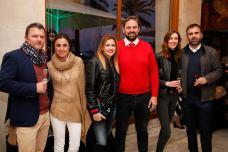 Stefano Bortollotti (club golf son servera), Sandra del Reino, Lucila, Juli Mir, Xisca Oliver y Bernat Llobera (golf Son vida)© La Siesta Press / J. Fernández Ortega