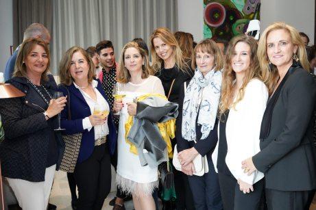 María José, Alejandra, Alícia Polo, Gabi, Petra, Carmen y Mariajo © La Siesta Press / J. Fernández Ortega