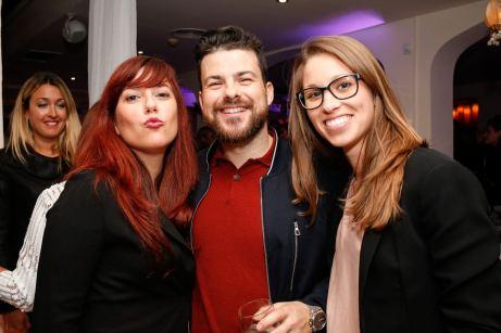 Andres Benitez, Maria Covas, Laura Sincovick. © La Siesta Press / J. Fernández Ortega