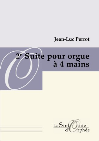 suite à quatre mains pour orgue