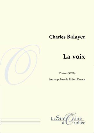 Charles Balayer La voix Robert Desnos