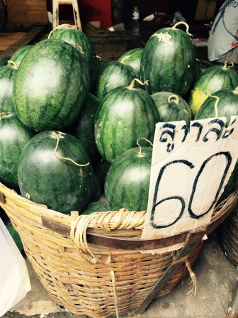 Watermelon - roughly $1.80 a piece