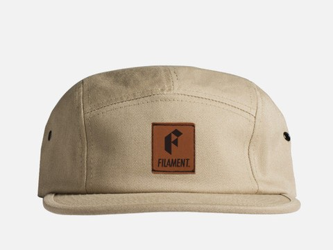 PATCH 5 PANEL HAT - KHAKI