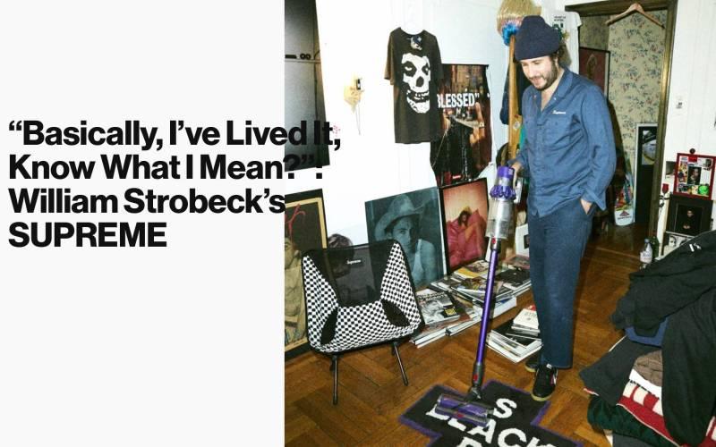 William Strobeck Supreme video