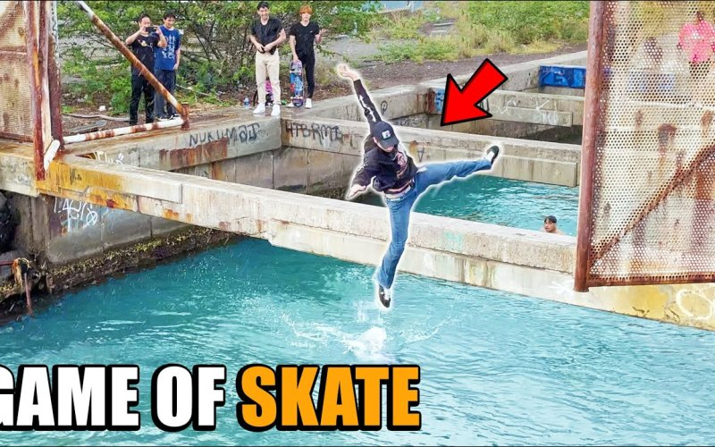 Game of skate Jason Park
