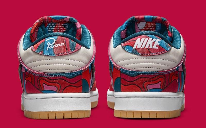 Parra Nike Dunk semelle talon