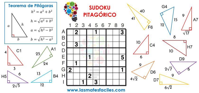 sudoku pitagórico