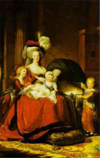louise-elisabeth-vigee-lebrun-portrait-of-queen-marie-antoinette-with-children