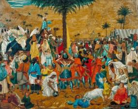 La huida de Egipto, Richard Dadd (1849)