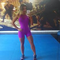 Paola Usme y su ropa deportiva