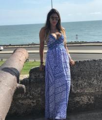 Daniela Ospina en Cartagena