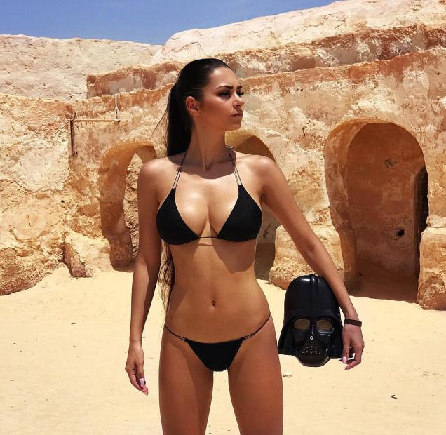 Helga Lovekaty and Star Wars