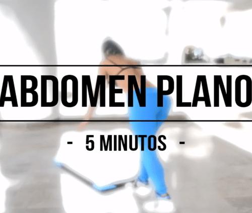 Ejercicios para trabajar el abdomen por Paola Usme
