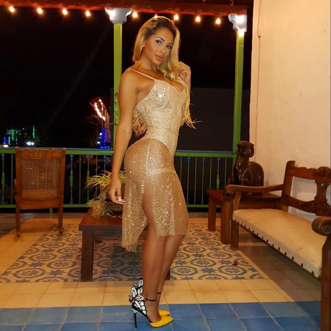 Paola Usme año nuevo 2018