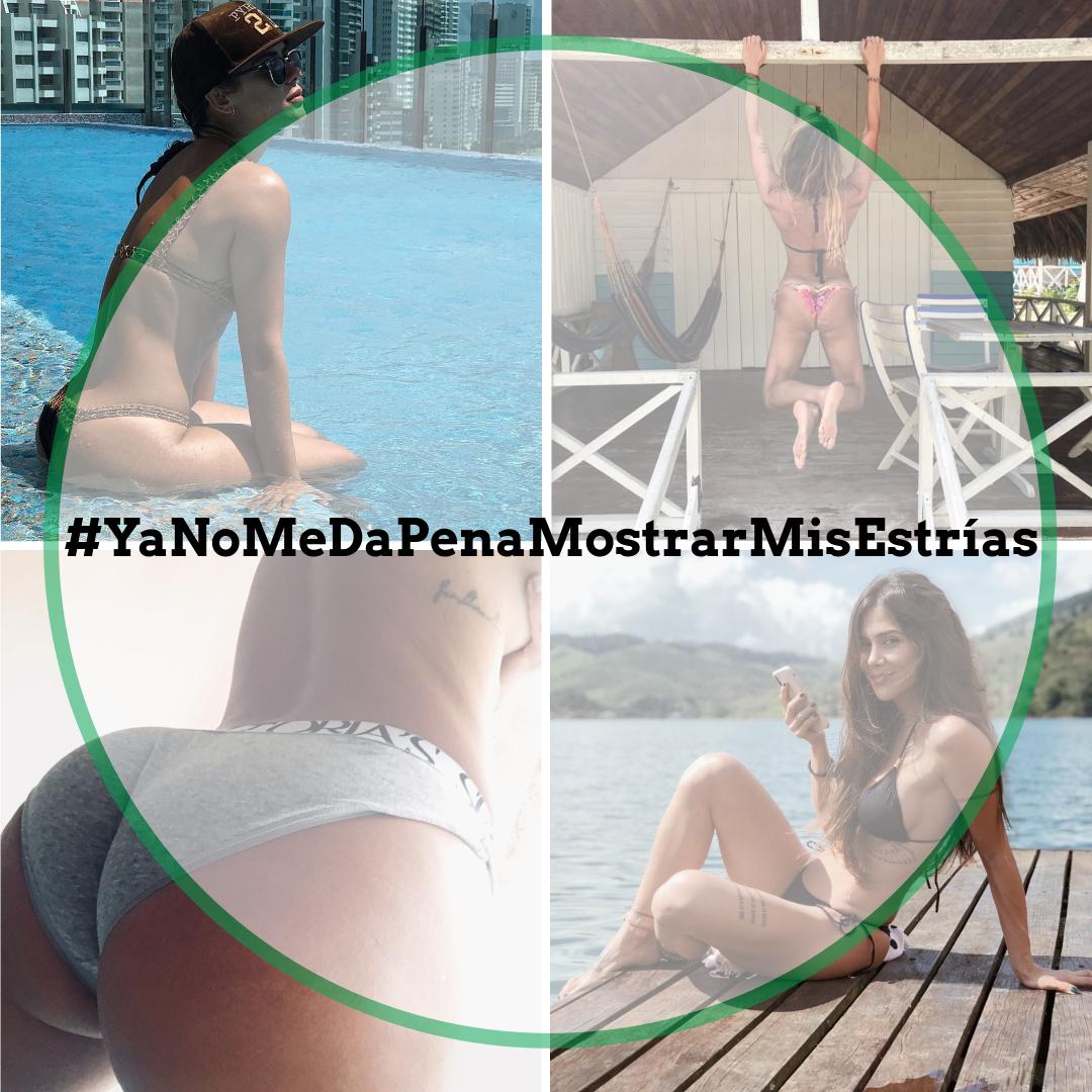 'Ya no me da pena mostrar mis estrías' la campaña que se toma Instagram #YaNoMeDaPenaMostrarMisEstrías