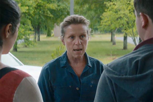 Frances McDormand por 'Tres anuncios en las afueras'