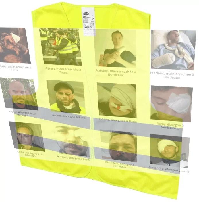 Gewalt gegen Gelbwesten