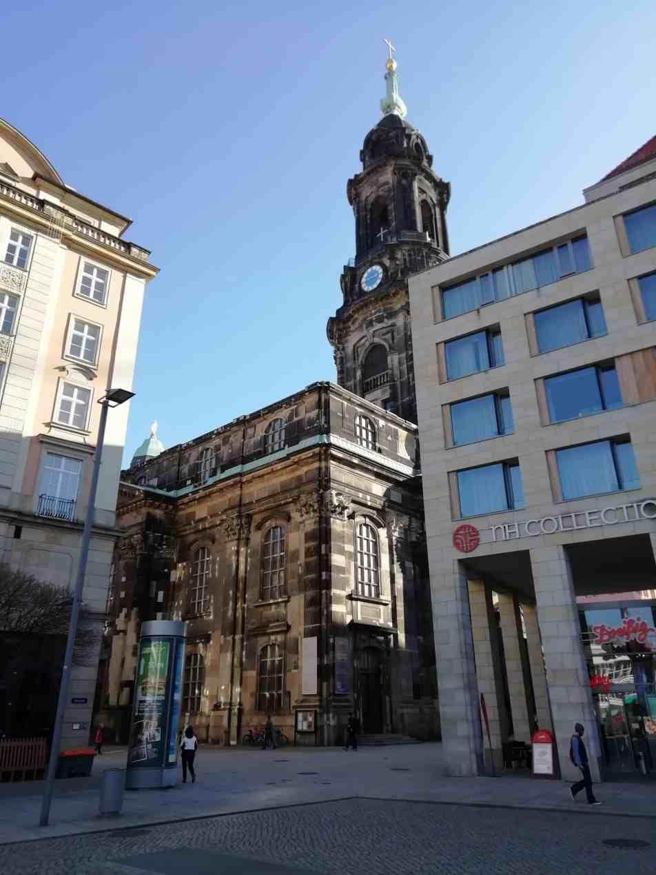 Die Dresdner Kreuzkirche