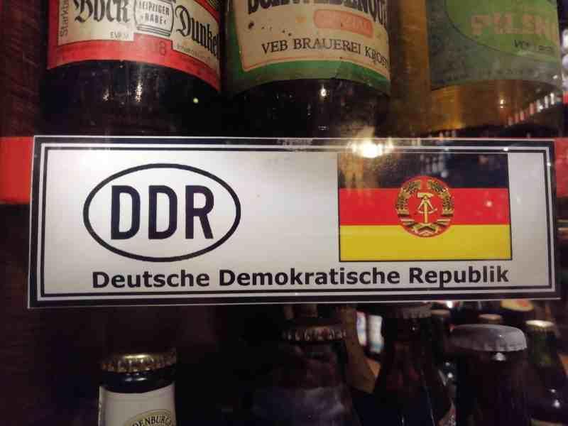 Bier aus der DDR in der Orginalabfüllung