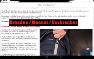 Dresden/Messer/Verbrecher