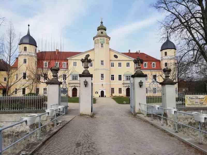 Schloss Hermsdorf mit dem Hermsdorfer Park