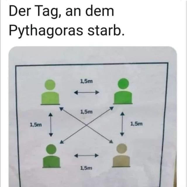 Der Tag an dem Pythagoras starb