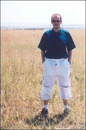 El autor >Ilías Temporakis durante su viaje