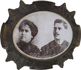 Amelia Goyri y José Vicente Adot.