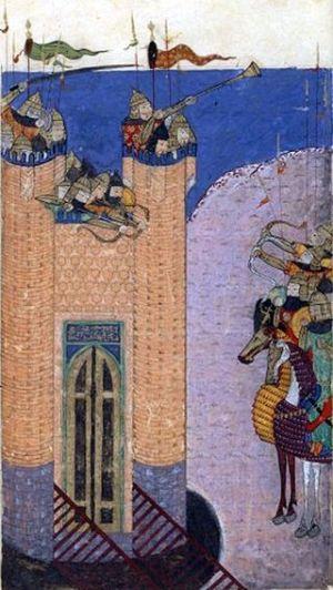 Asedio de Alamut - (1256)