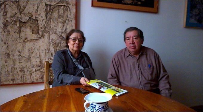 Esther González y Guillermo Cenicero