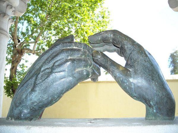 Córdoba monumento a Zaydũn y Wallada