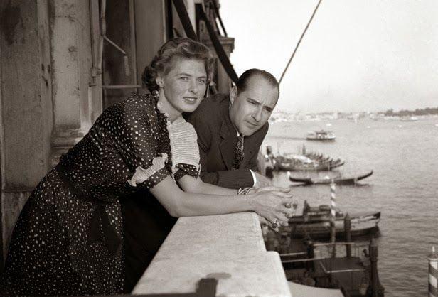 Ingrid Bergman y Roberto Rosellini