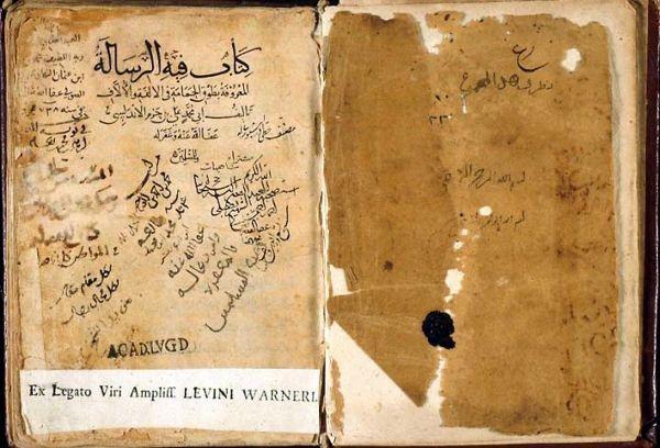 manuscrito el collar de la paloma