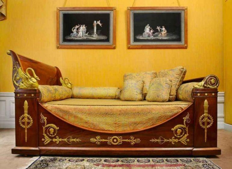cama estilo imperio
