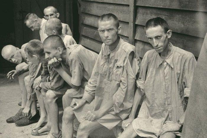campo de Mauthausen -Francesc Boix