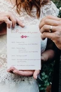 papeterie pour un mariage en automne
