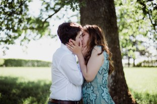 Love session - Futurs mariés dans le Gers